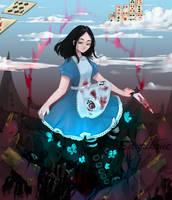Alice by Saurikone