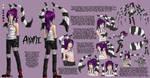 Ayami: The Pinstripe Predator by Mikallen