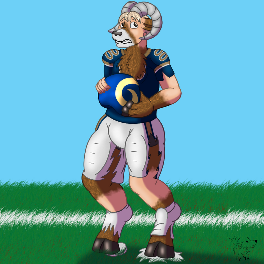St. Louis Ram by Banana-of-Doom2000