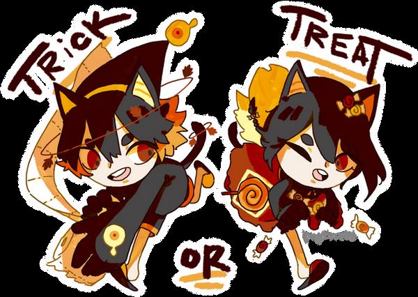 Trick or Treat by piyobread
