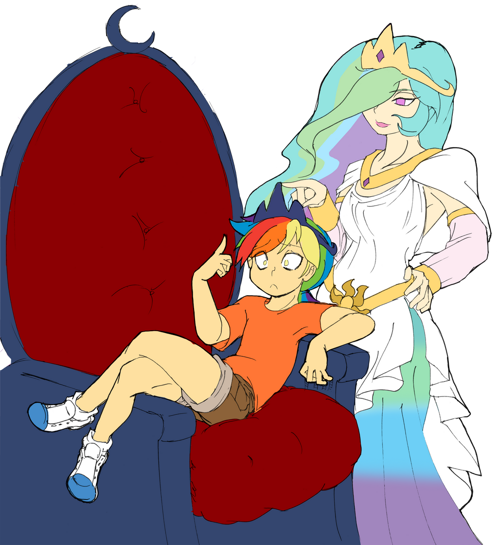 Lil Princess Caught by Dan-Heron by Q99