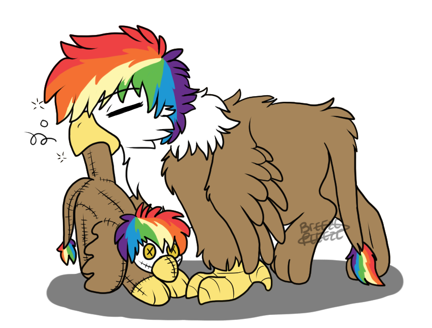 Fledgeling Feather's Toy By Breezepleeze by Q99