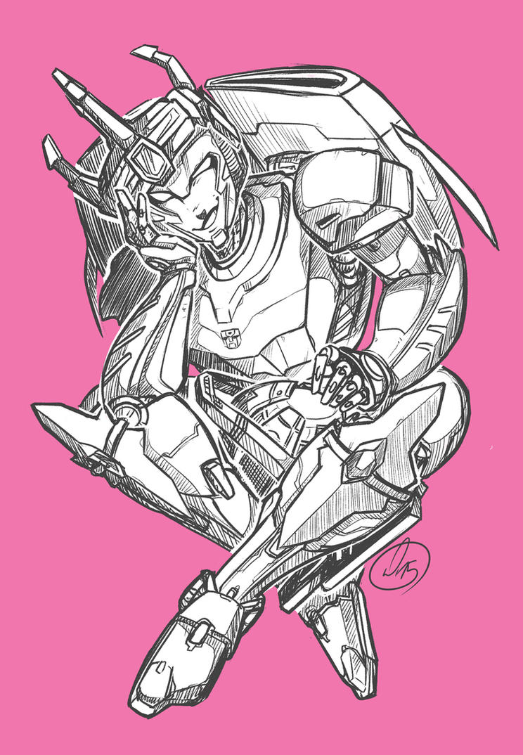 Arcee the Chosen Prime Pink by Witcherlet by Q99