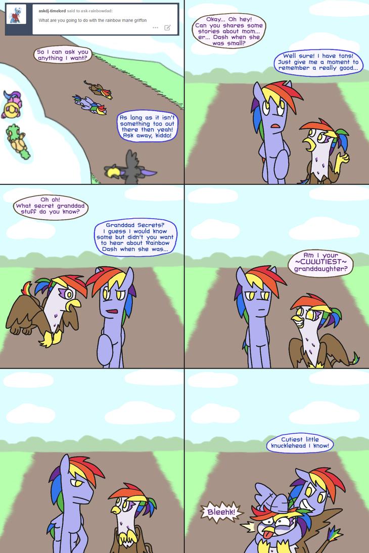 Rainbow Blaze and Rainbow Feather By Ryuspike by Q99