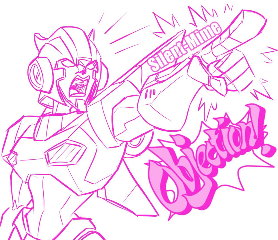 Arcee's Objection By Silent Mime by Q99