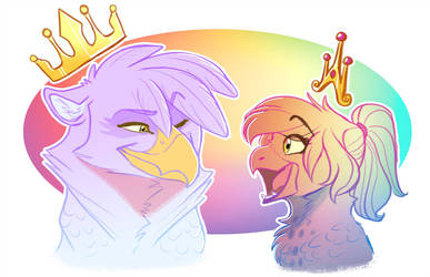 Royal Gilda n Feather by Earthsong9405 by Q99
