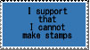 XD cant make stamps by CannonUzimaki