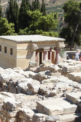 Knossos is amazing by Cyklopi