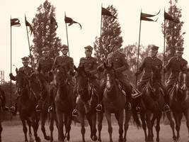 Polish lancers 1939 by Cyklopi