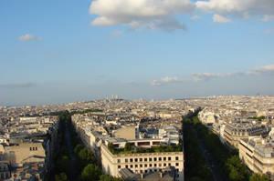 Paris panorama by Cyklopi
