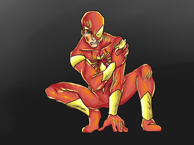 Iron Spidey- Civil War by nursury0