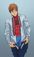 Peter Changing Clothes