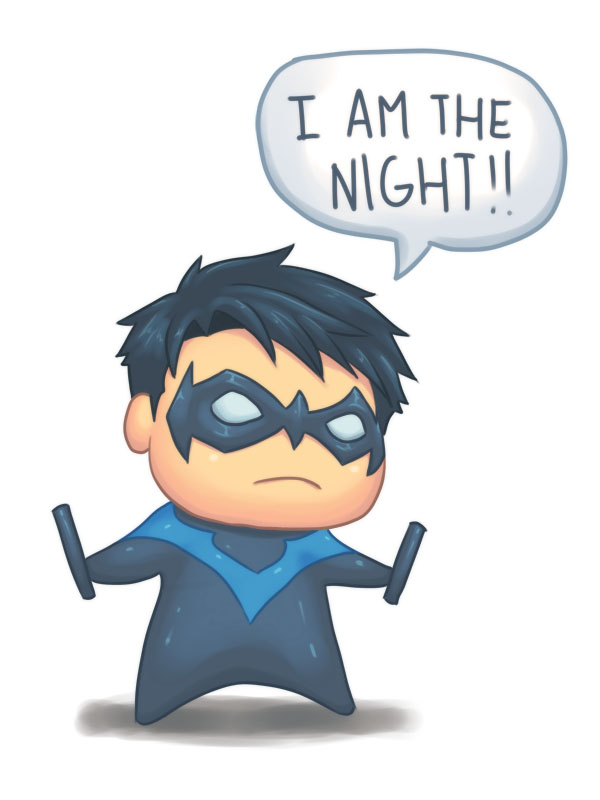 SD Nightwing by nursury0