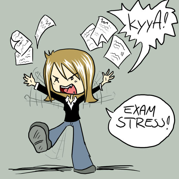 exam stress essay Stress for an exam) and premature closure (quickly choosing a solution to end a stressful situation--for example, rushing through an exam) what is stressful.