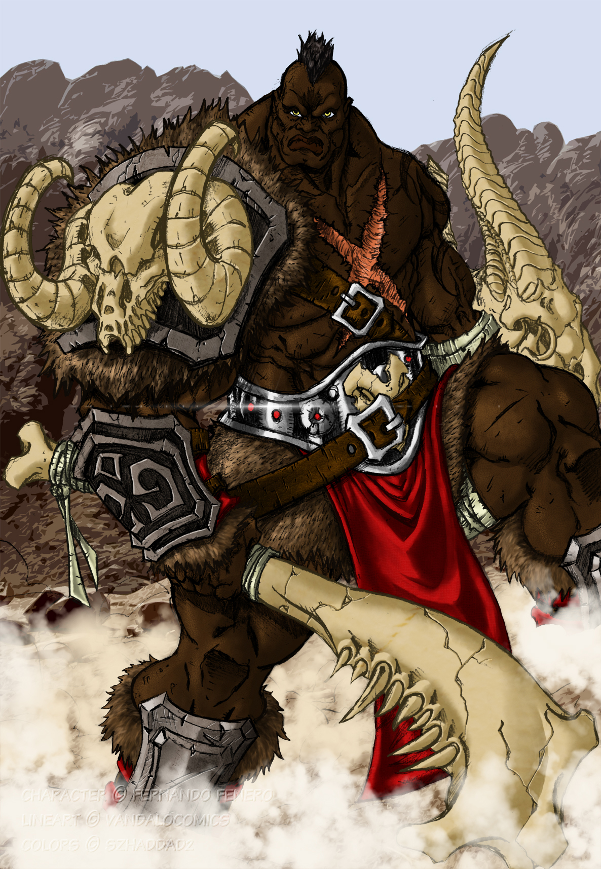 Image Result For Mohawk Warrior Coloring