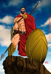 Leonidas 300 by szhaddad2