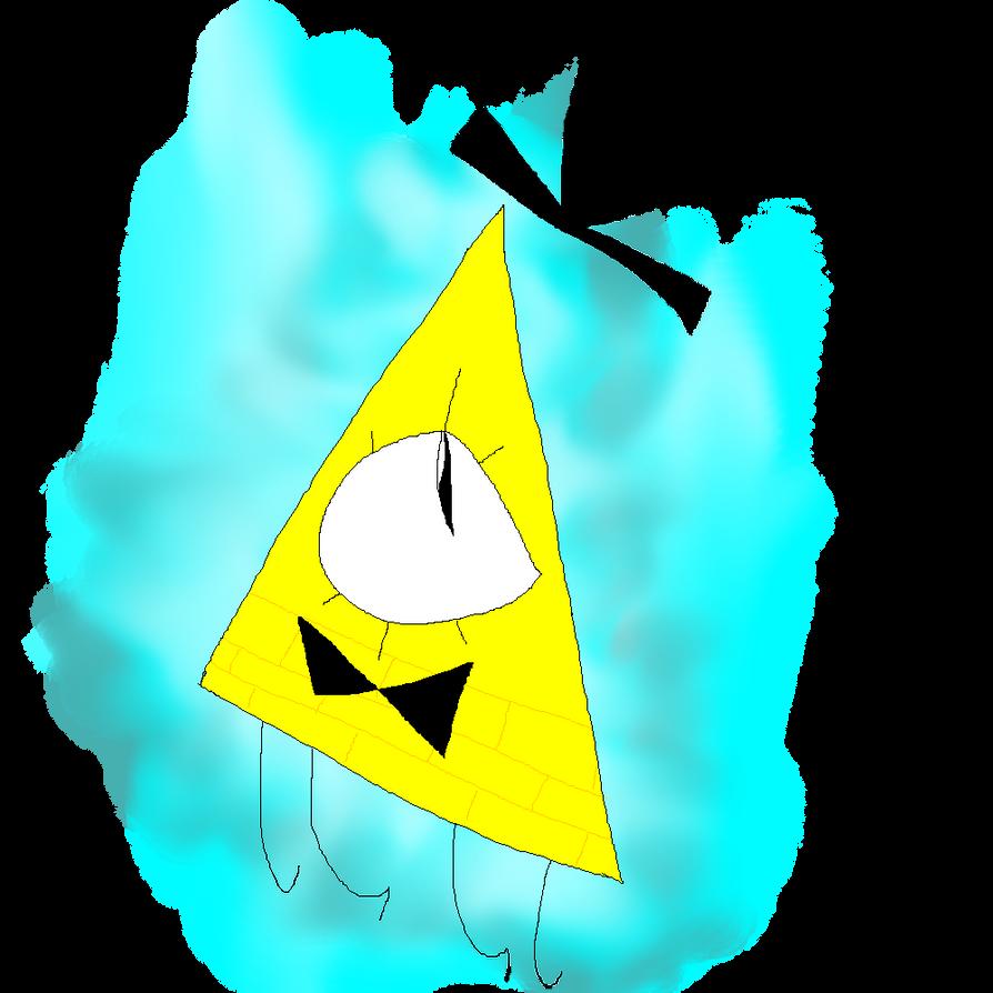 Gravity Falls Fan Art: Bill Cipher by Azailiathefox