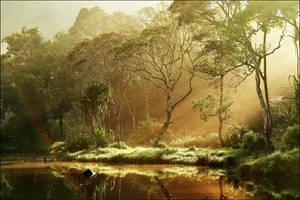 Morning at Situ Gunung I by juhe