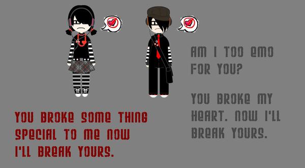 Wallpaper Heartbroken By KillmeNow22