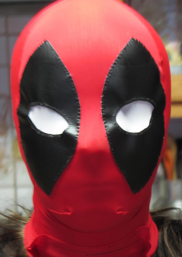 Lady Deadpool Mask WIP by 0ShadowNightMare0 on DeviantArt
