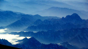 Blue mountains of Tibet 3 by Rhoehypnol