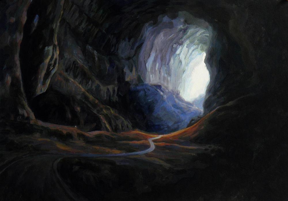 Пещерите Даерон (Страната на Тъмата) The_Cave_by_bongoshock