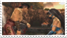 Liu Kang x Kitana stamp by BriskGoddess