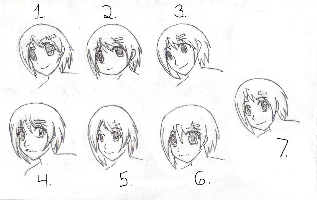 Cute Girl Face Reference By Jinglesrasco On Deviantart