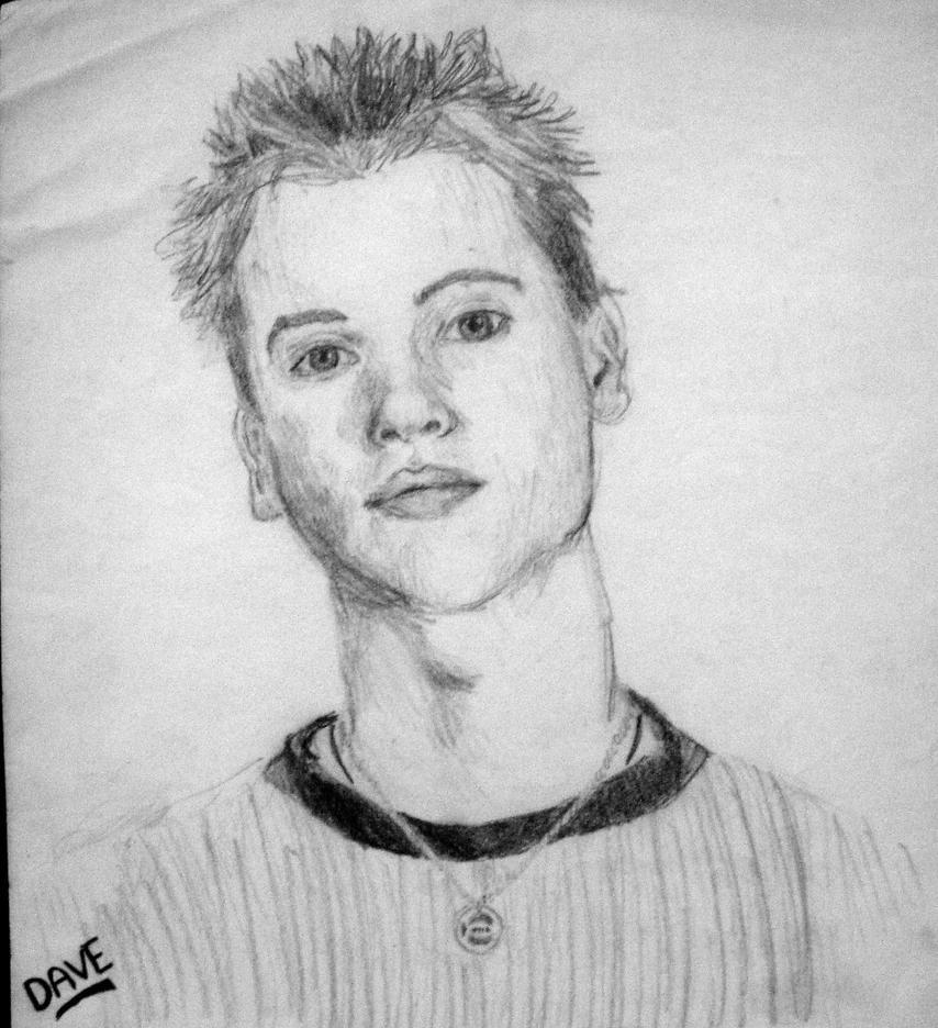 1999 - Dave Moffatt (15yo) by AmyVanHym