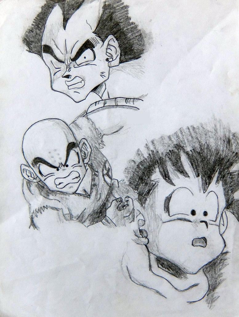 1999 - Dragon Ball Z (14yo) by AmyVanHym