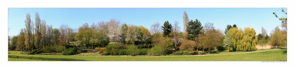 Campbell Park, Milton Keynes, United Kingdom by sandor-laza