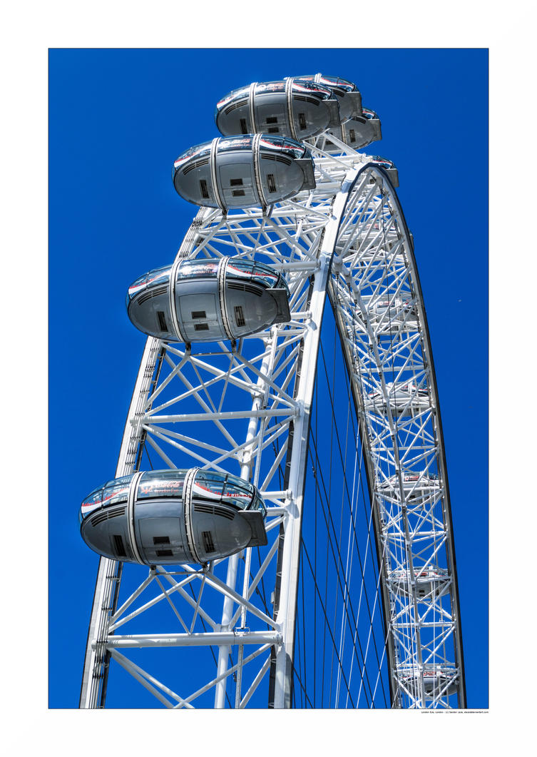 London Eye by sandor-laza