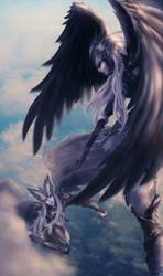 Harpy / Kinnari by heather-mc-kintosh