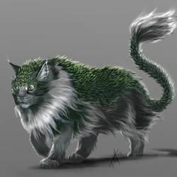 Cat/Snake = Cake? by heather-mc-kintosh