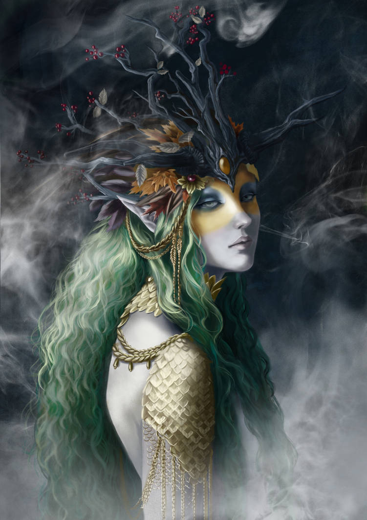 Forest Fae by heather-mc-kintosh