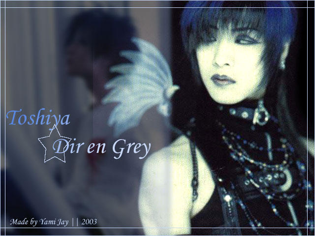 Toshiya -Dir en Grey Wallpaper by YamiJay
