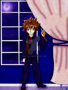 KHR - Moonlight Tsuna