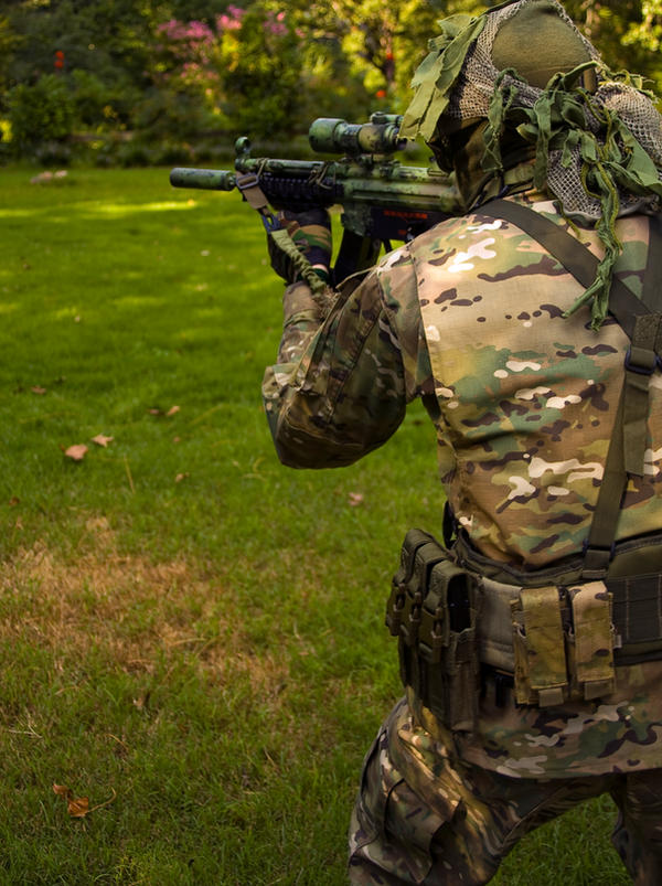 Multicam Airsoft Loadout by CottonTheMothAirsoft Loadout Multicam