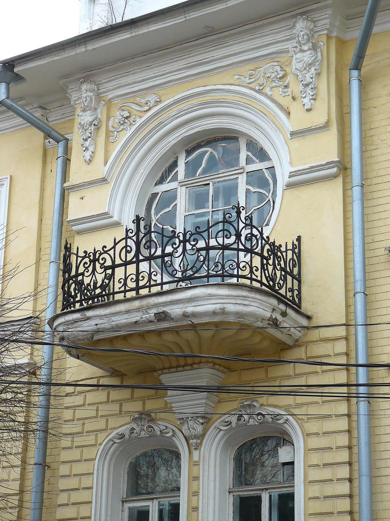 Balcony of house th century by ferrabra on deviantart