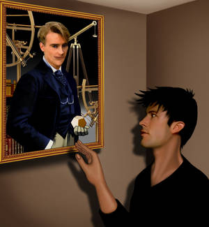 John and the Portrait