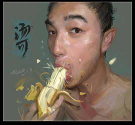 Crisp banana