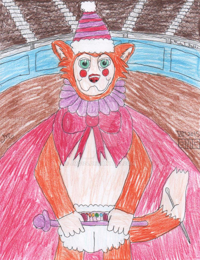 Fursday the Clown by jmg124