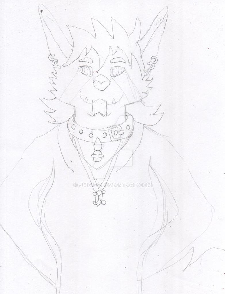Kitana Sketch #1 by jmg124