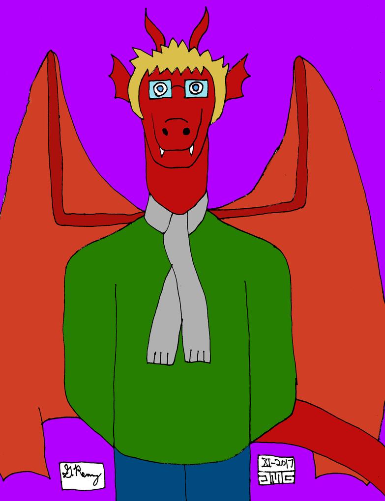 Tom the Dragon (Color) by jmg124 on DeviantArt