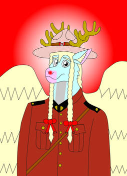 Red-Nosed Canadian Mounted Police