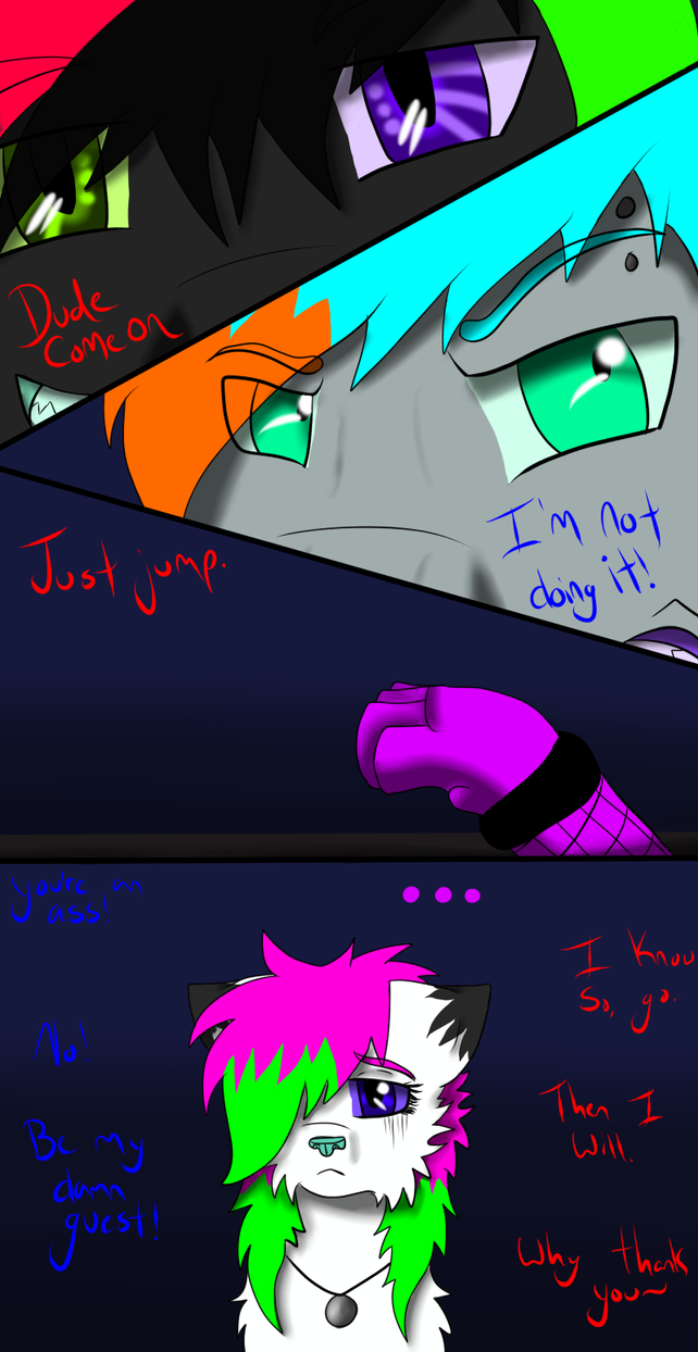 Night Lights page 1 by CollisionXIII