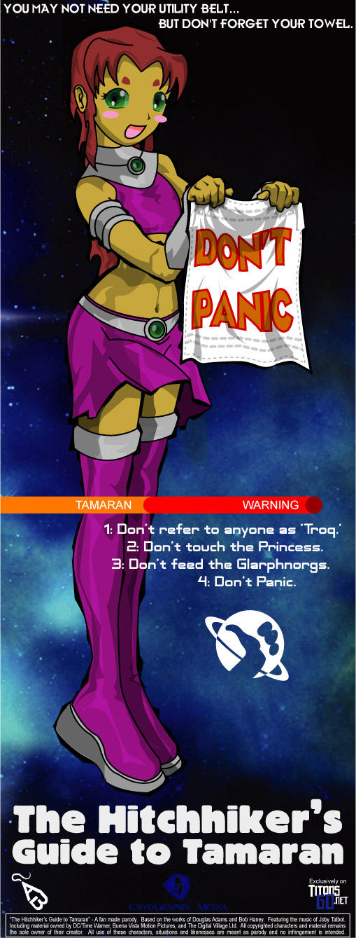 an analysis of the hitchhikers guide to the galaxy as a wholly remarkable book With the words don't panic written in large friendly letters on the cover, this is the hitchhiker's guide to the galaxy by douglas adams.