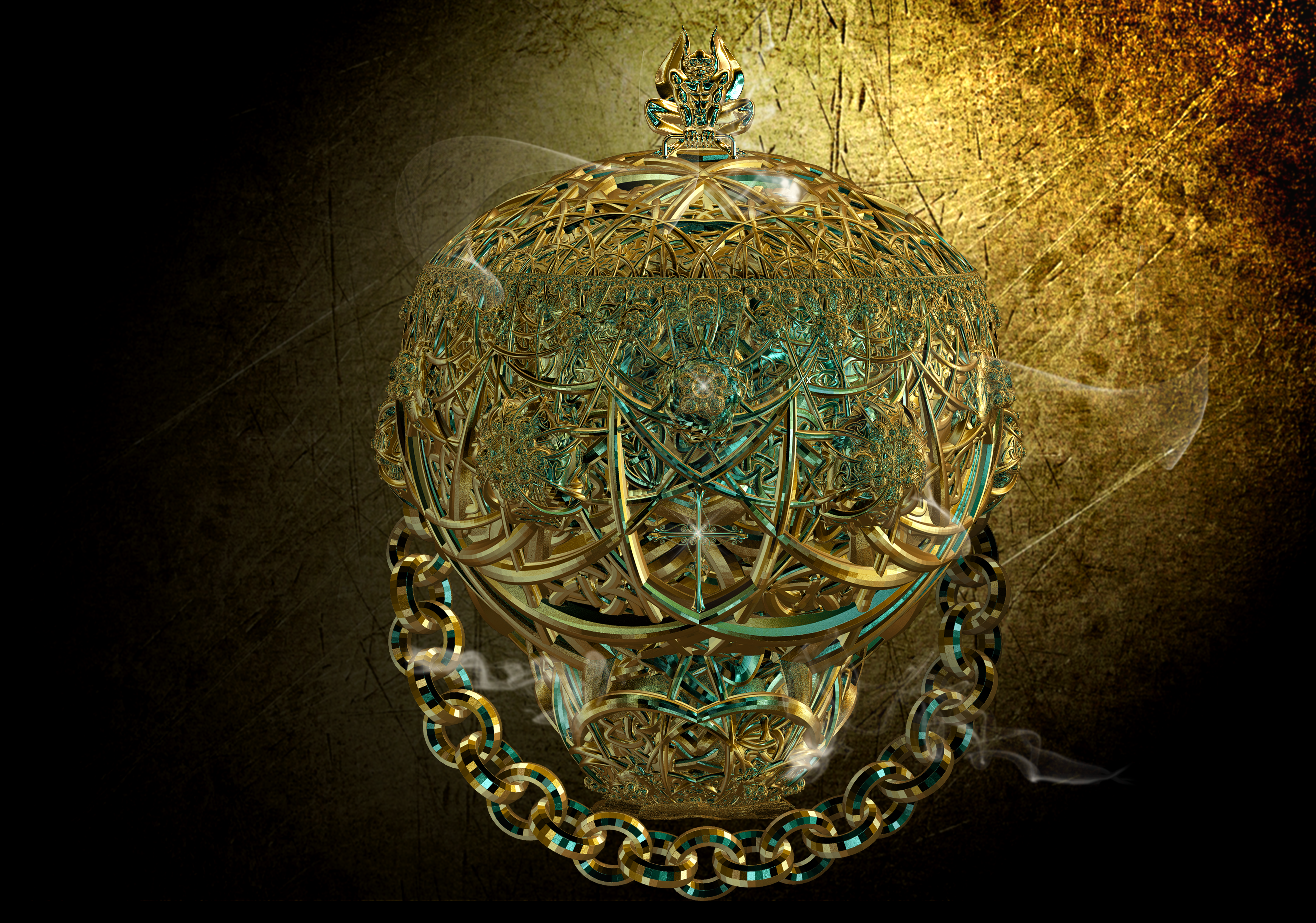 Incense Censer by Tate27kh