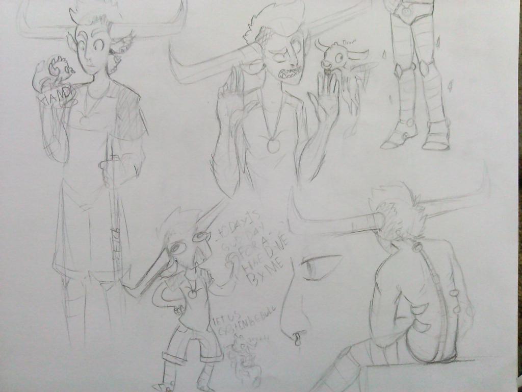 adult tavros sketch dumpslendyfox321 on deviantart