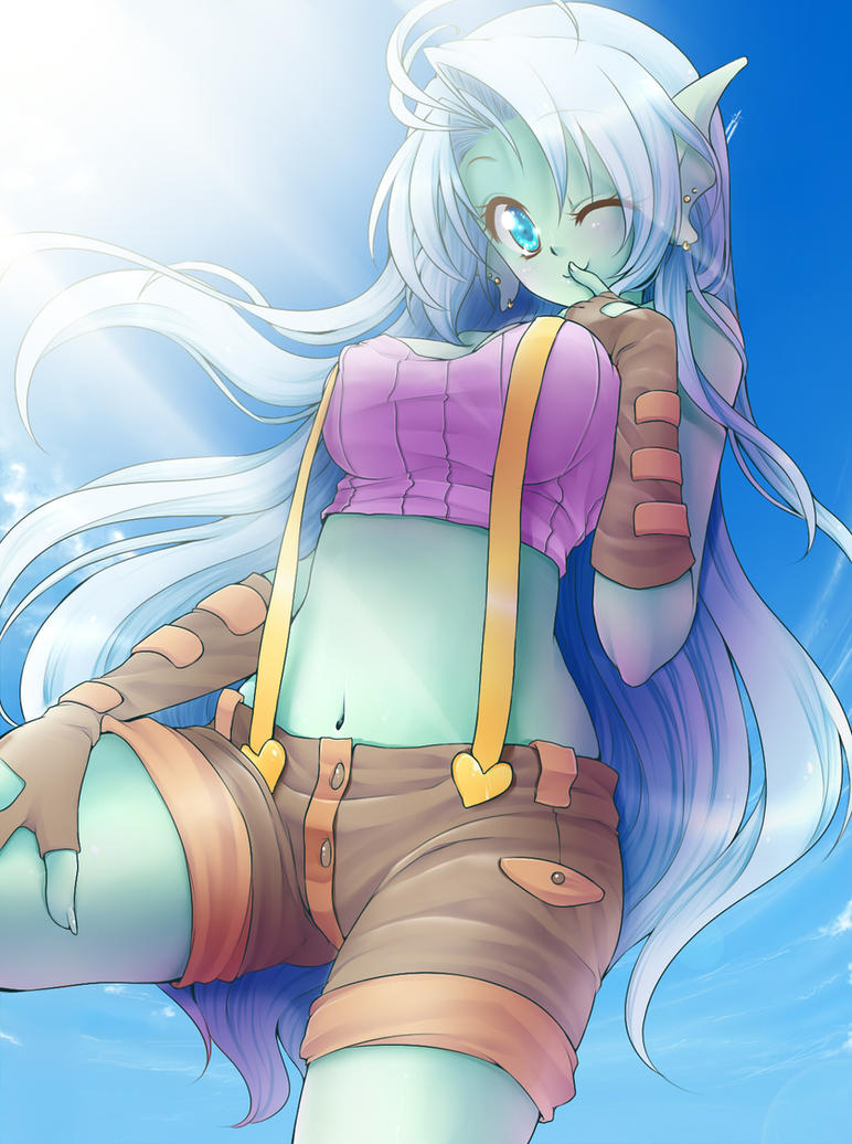 :CM: Beautiful Blue by Desiree-U